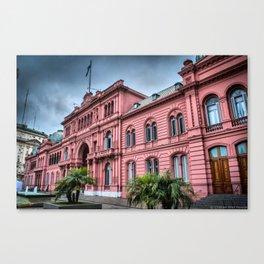 Casa Rosada de Buenos Aires Canvas Print