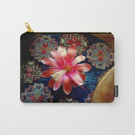Cactus Flower By Design Carry-All Pouch