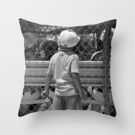 Little Brother 2 Throw Pillow
