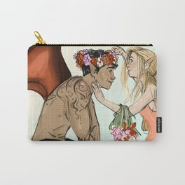 The Darkness and the Flower Carry-All Pouch