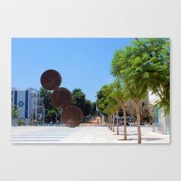 Tel Aviv photo - Habima Square - Israel Canvas Print