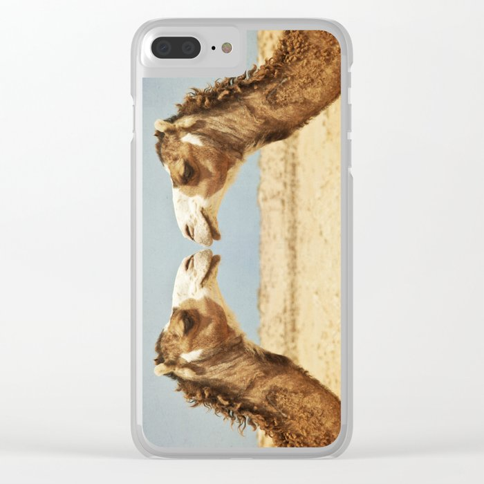 Love and Affection Clear iPhone Case