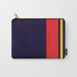 Navy Racer Carry-All Pouch