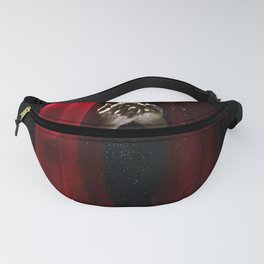 Red Dark Fanny Pack