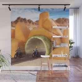 Zucchini Tunnel Wall Mural