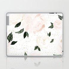 vintage blush floral Laptop & iPad Skin