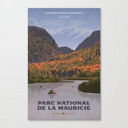 Parc National de la Mauricie Canvas Print