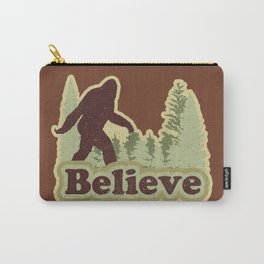Bigfoot Believe Carry-All Pouch