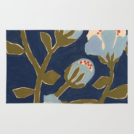 Blue Perennial Rug