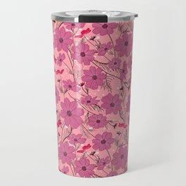 Cosmea lilac Travel Mug
