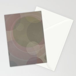 Circles Slate and Agate Stationery Cards
