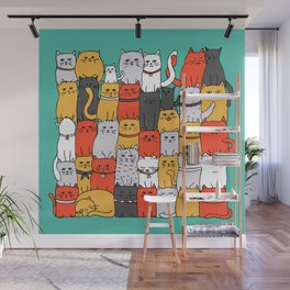 The Glaring - New Yorker Palette Wall Mural