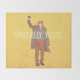 Sincerely Yours (The Breakfast Club) Throw Blanket