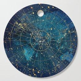 Star Map :: City Lights Cutting Board