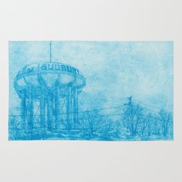 The Sudbury Water Tower Rug