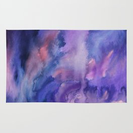 ON HOLD Watercolour Rug