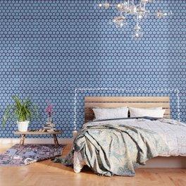 large honey comb tonal Wallpaper