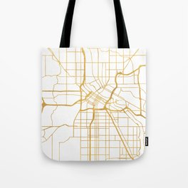 MINNEAPOLIS MINNESOTA CITY STREET MAP ART Tote Bag