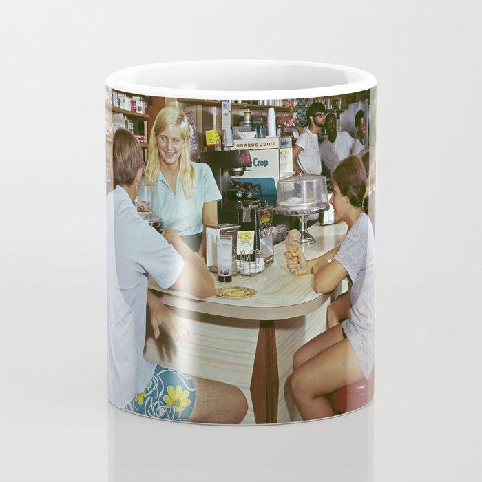 All Star Motel Coffee Shop in Wildwood, New Jersey. 1960's photograph Coffee Mug