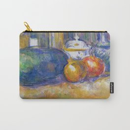 """Paul Cezanne """"Still-Life with a Watermelon and Pomegranates"""" Carry-All Pouch"""
