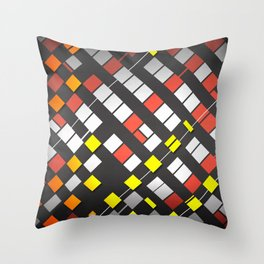 Breakout Pattern Throw Pillow