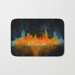 Atlanta City Skyline UHq v4 Bath Mat