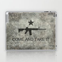 Come and Take it Flag with AR-15 Laptop & iPad Skin