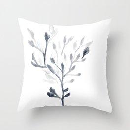 Watercolour Tree 4 Throw Pillow