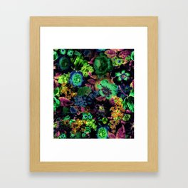 VINTAGE TEAPARTY Framed Art Print