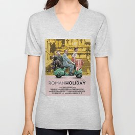 Roman Holiday Unisex V-Neck