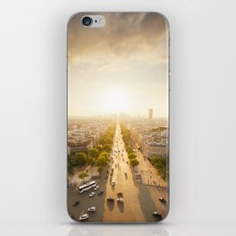 Champs Elysees From the Top iPhone Skin