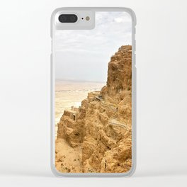 Masada Clear iPhone Case