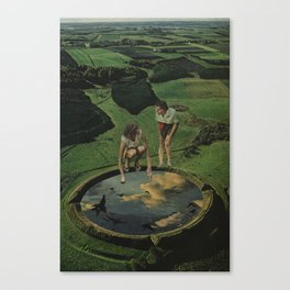 The Scrying Pool Canvas Print