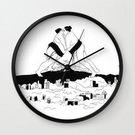sumo time Wall Clock