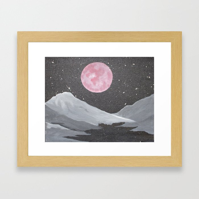 Obscure Dreams Framed Art Print