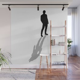 My Real Nature Is In My Shadow Wall Mural