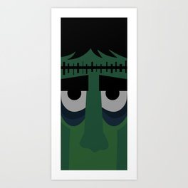 Lets be Frankenstein Art Print
