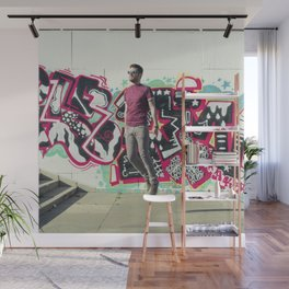 Hipster Abduction Wall Mural