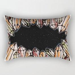 Space Crystals Rectangular Pillow