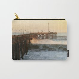 Ventura Pier with Big Wave Carry-All Pouch