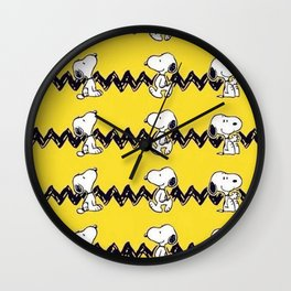 snoopy charlie brown Wall Clock