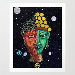 Dualidad Art Print