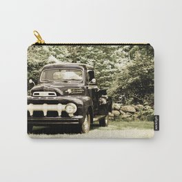 Ford in a Field Carry-All Pouch