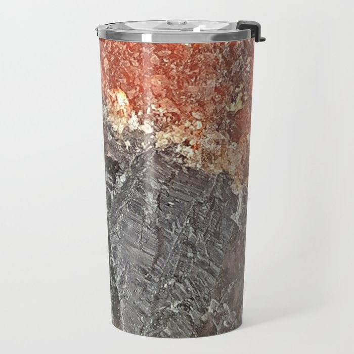 Red Capped Super Seven Travel Mug