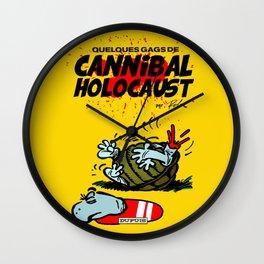 CANNIBAL HOLOCAUST BOULE ET BILL Wall Clock