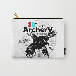 Traditional Instinctive Archery Carry-All Pouch