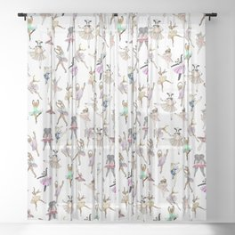 Animal Ballet Hipsters LV Sheer Curtain