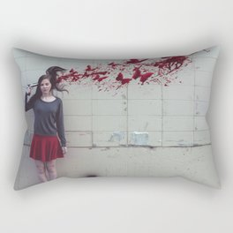 Bullet With Butterfly Wings Rectangular Pillow