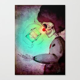 Mr.Clown Canvas Print