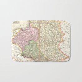 Vintage Map of Poland (1818) Bath Mat
